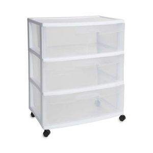 Plastic drawer storage x 2 for Sale in Washington, DC