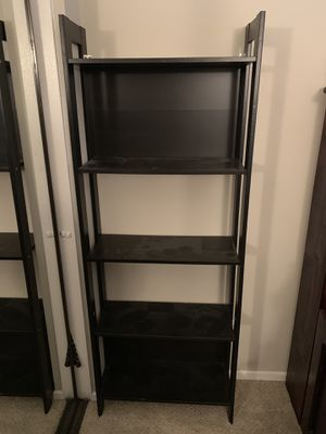 Wooden 5 shelve bookshelf for Sale in Lake Forest, CA