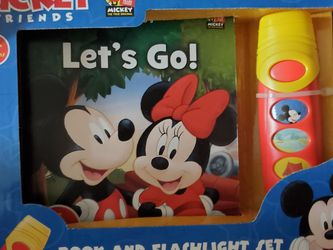Mickey Book And Flashlight for Sale in Belleview,  FL