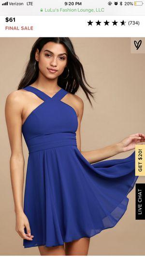 Lulu's blue dress for Sale in Fresno, CA