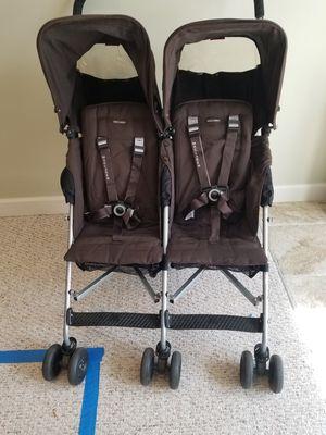 Maclaren Double Stroller for Sale in New Market, MD