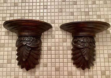 Decorative Wood Wall Shelves/Sconces for Sale in Dallas,  TX
