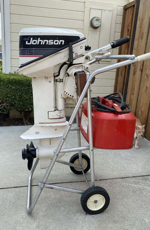 15hp Johnson outboard motor