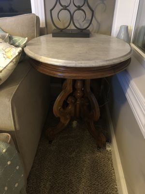 Antique marble top table for Sale in Delaware, OH