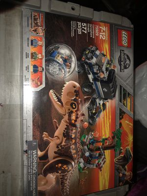 Lego Jurassic world 75929 Carnotaurus gyrosphere Escape Brand new sealed in box for Sale in Tarpon Springs, FL