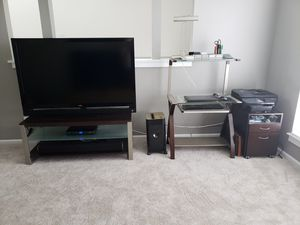 Desk and Chair and matching TV Stand for Sale in Alexandria, VA