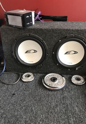 2 10'in E type kickers with box for Sale in Silver Spring, MD