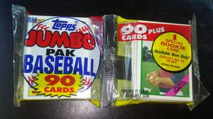 Topps 1988 Jumbo Baseball Cards for Sale in North Olmsted, OH