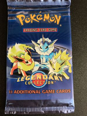 Pokemon Legendary Collection Sealed Unweighed Pack MINT for Sale in Lakewood, CA