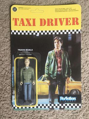 "ReAction 3 3/4"" Travis Bickle Taxi Driver Figure for Sale in Redford Charter Township, MI"