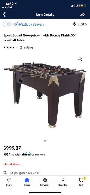 Foose ball table for Sale in Salinas, CA
