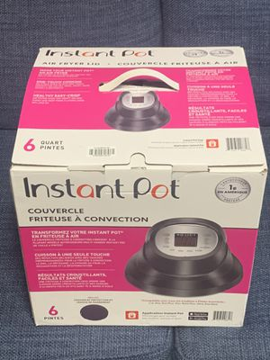 Instant pot air fryer for Sale in Palo Alto, CA