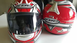 Used MEDIUM KBC Motorcycle Helmet for Sale in Tacoma, WA