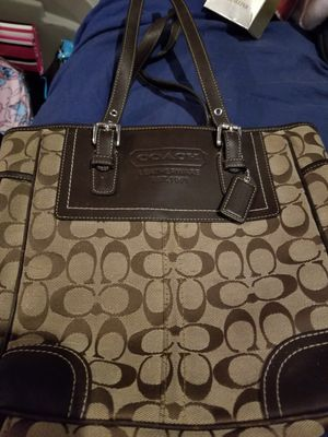 Brown coach purse for Sale in Plant City, FL