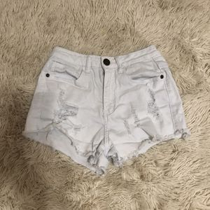 white denim shorts for Sale in San Antonio, TX