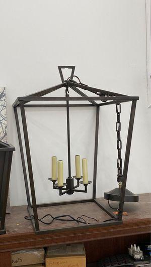 Black Lantern Chandelier for Sale in Gurnee, IL