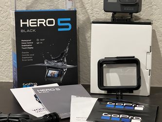 GoPro Hero Black 5 With Bonus Items for Sale in Dublin,  CA