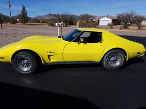 1975 Chevy CORVETTE sting ray w T-TOPS! for Sale in Huachuca City, AZ