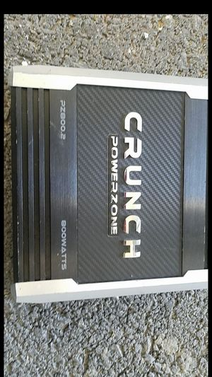 Amplificador crunch de 800 watts for Sale in Las Vegas, NV