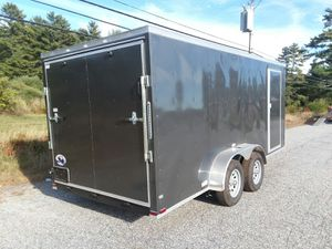 New Quality Cargo 7 x 16 enclosed cargo trailer for Sale in Enfield, CT