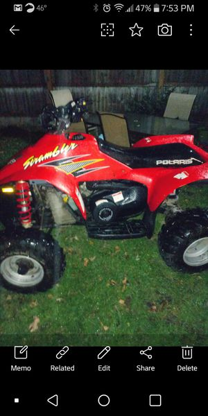 1999 Polaris scrambler 500 im looking for one for parts for Sale in South Wilmington, IL