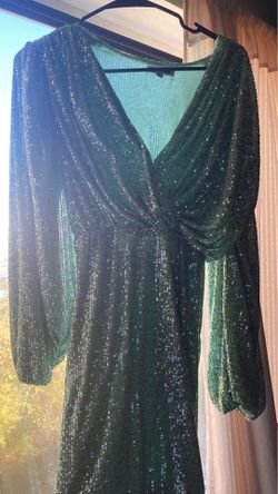 Green sequined dress for Sale in Waterbury,  CT