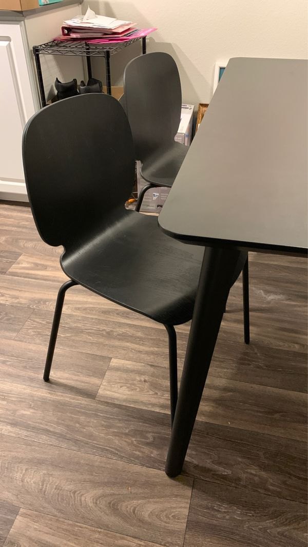IKEA - Dining Table and four chairs