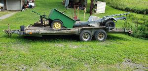 Car Trailer diamond plate deck for Sale in Pittsburgh, PA