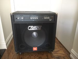 Crate BX-2115L Bass Amplifier for Sale in Washington, DC