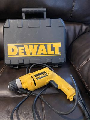 dewalt d21008 cord drill with case for Sale in Miami, FL