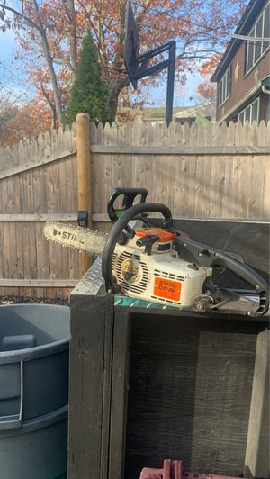 Stihl16 inch chainsaw (not working currently) for Sale in Weymouth, MA