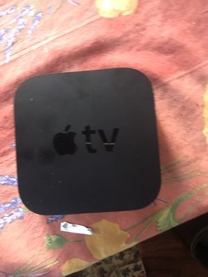 Apple TV 3rd generation no cords for Sale in Chevy Chase, MD