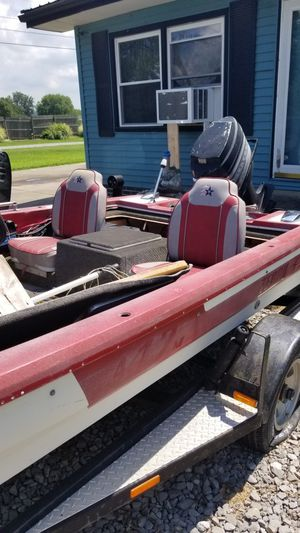 15 1/2 foot bass boat for sale for Sale in Morganfield, KY