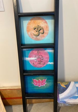 Yoga/lotus flower/ meditation theme decore for Sale in Long Beach, NY