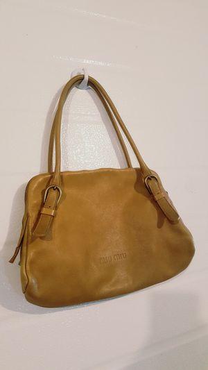 Miu Miu Geniune Leather bag for Sale in Stanwood, WA