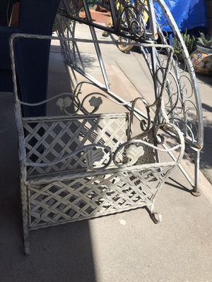 Wrought Iron magazine rack for Sale in La Puente, CA