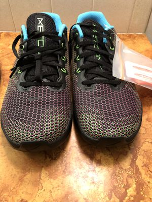 Nike Metcon 5 AMP CD3395-046 Black Fire Pink Volt Men's Cross Training Gym Shoes Size 11 for Sale in Wichita, KS
