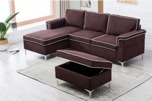 Brand New Sectional and Ottoman for Sale in Pacific, WA