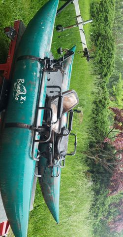 Bucks bags pontoon boat for Sale in Camas,  WA