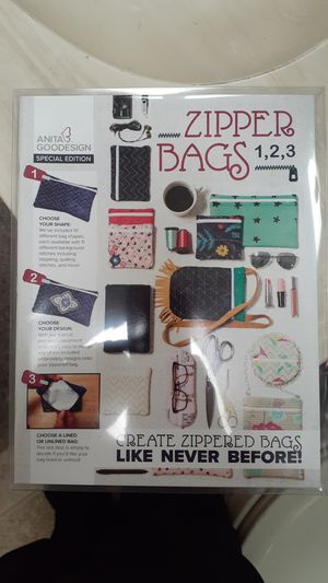 Anita goodesign special edition zipper bags for Sale in Tucson, AZ