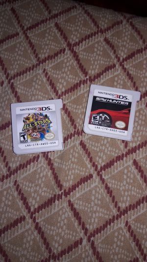 Two 3ds games will trade for one Nintendo switch game for Sale in Seattle, WA