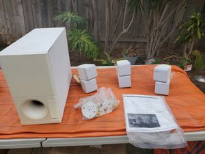 Bose Am7 Speaker System and Subwoofer for Sale in Oceanside, CA