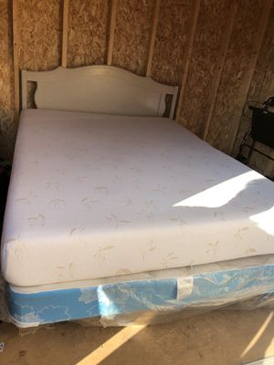 Queen size bed available frames, Mattresses , box spring & Headboard for Sale in Port St. Lucie, FL