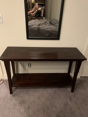 Pottery Barn Wood Console Table for Sale in Phoenix, AZ