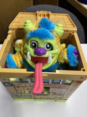 Crate Creatures Surprise Pudge Character Interactive Toy stuffed animal figure for Sale in Bloomington, CA
