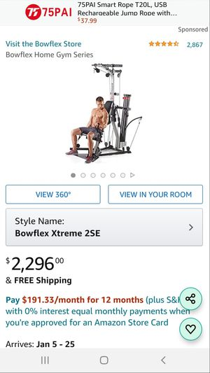 Bowflex Xtreme 2 SE Home Gym for Sale in Sanger, CA