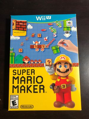 Super Mario Maker - Nintendo Wii U With Box And Manuel for Sale in Lebanon, OH