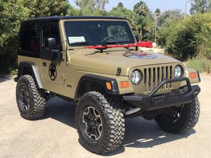 1997 Jeep Wrangler Sport 4x4 in-line 6 cylinder 4.0 for Sale in San Diego, CA