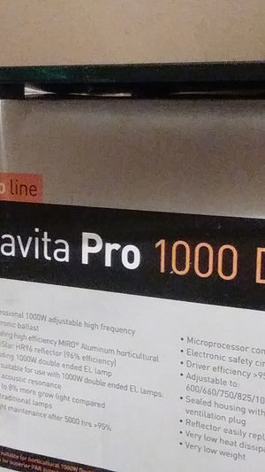 PRO LINE Gavita pro 1000 de / Grow light for all Horticulture Needs & Wants !!!! for Sale in Madison, IL