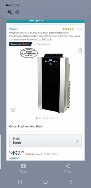 Whytmer air conditioning and Dehumidifier Unit for Sale in Long Beach, CA